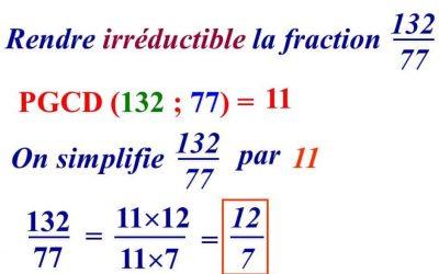 Diviseurs et fractions